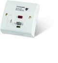 Valiance+® RCD Protected Single Gang White Fused Connection Unit – Passive