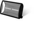 30W LED Wide Angle Floodlight – Black
